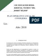 Plan de Consejeria IBW