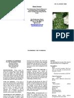 updated funeral brochure 2018