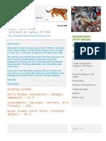 newsletter educ 1301