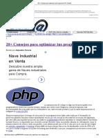 20+ Consejos para optimizar tus programas PHP _ Dipler
