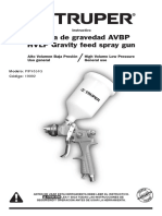 Pistola de Gravedad Truper Pipi-351g