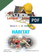 Lexique Habitat