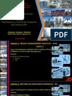 006 y 007 Planificación y Control de Proyectos de Construcción MDC v1