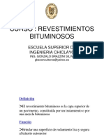 RECUBRIMIRNTOS BITUMINOSOS