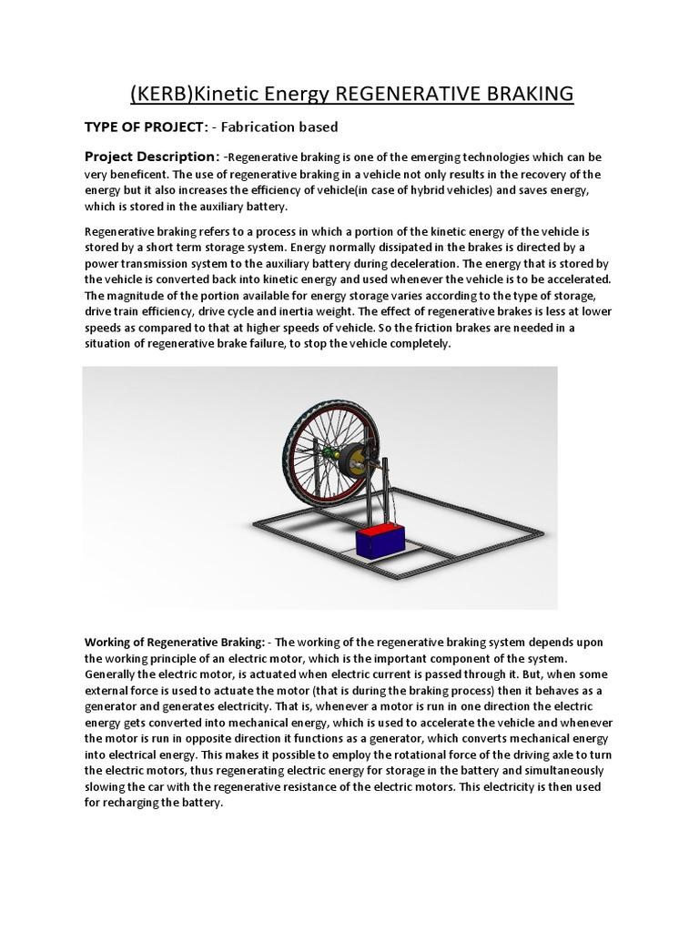 Project Proposal   Brake   Vehicles