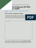 Como Hacer Un Diagrama de Tortuga Para ISO 9001 Ej de Area Ventas-word