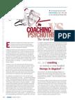 Coaching vs Psychology the Great Debate