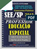 Educacao Especial-di See-sp Parte Especifica - Vmsimulados Divulgacao