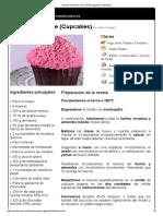 Hoja de Impresión de Cupcake Gigante (Cupcakes)
