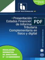 Presentación de EEFF en Físico y Digital RND N° 101800000004