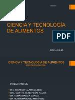 Ciencia y Tecnología de Alimentos CA-65