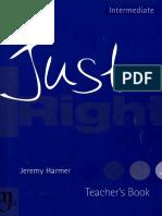 Just Right Intermediate Teacher's Book.pdf