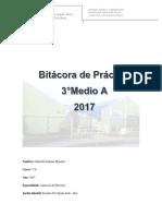 Bitacora 3º Medio 2017