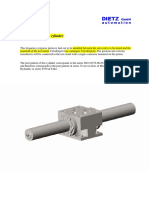 Frequency Response hydraulic Cylinder - English