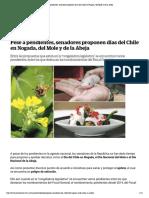 28-02-18 Pese a pendientes, senadores proponen días del Chile en Nogada, del Mole y de la Abeja