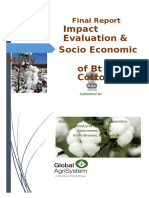 Final Report - BT Cotton