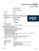 Hoja de Seguridad Diphenyltin Dichloride