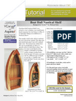 Boat Hull Shelf Tutorial
