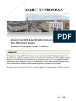 RFP-Design Charette-One Monument Square