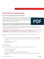 How to File an ICDR Arbitration Case