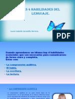 Cuatro Macrohabilidades Lingüísticas
