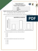 Evaluación Datos y Probabilidades Teercero Básico
