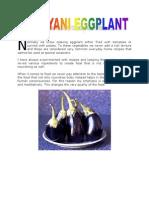 Biryani Eggplant