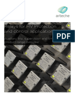 ARTECHE FY Auxiliary-Relays En