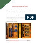 Equipos y Herramientas Reparacion de Celulares