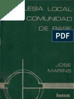 Marins Jose Iglesia Local Comunidad de Base