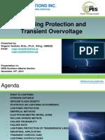 Lightning Protection and Transient Overvoltage Rogerio Verdolin