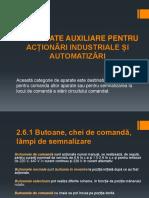Aparate Auxiliare Pentru Acționări Industriale Și Automatizări