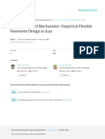 Development of Mechanistic-Empirical Flexible Pave