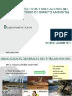 Objetivos y Obligaciones de Estudio de Impacto Ambiental