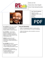 kickstart lesson plan  tableau with mlk