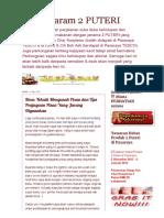 Asam Garam 2 PUTERI_ Ilmu_ Teknik Mengasah Pisau Dan Tips Penjagaan Pisau Yang Jarang Digunakan