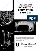 Lockstitch Stitch formation