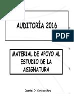 7122_Auditoría 2016 - Clase 1 - Cr Mora - Material de Apoyo Para Alumnos