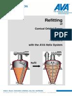 Refitting Conical Orbital Screws