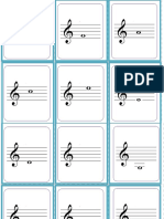 Flash Cards Notas Musicales