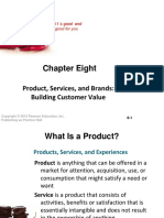 Product, Services, and Brands