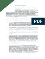 Cuatro Niveles de Desarrollo de Competencias