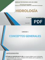 Clase Hidrología