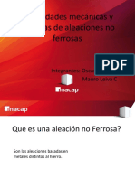 Power Point Aleaciones No Ferrosas