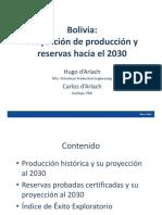 Reservas de Gas 2107