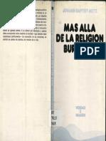 METZ, J. B., Más Allá de La Religión Burguesa. Sobre El Futuro Del Cristianismo, Sigueme, 1982