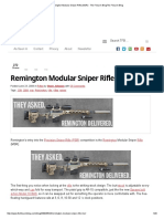 Remington Modular Sniper Rifle (MSR) - The Firearm BlogThe Firearm Blog