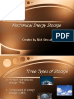Mechanical Energy Storage