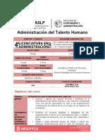 04 Administración del Talento Humano LA Noviembre 2016