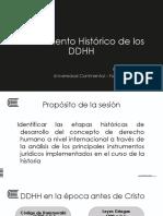 Fundamento Historico de Los DDHH